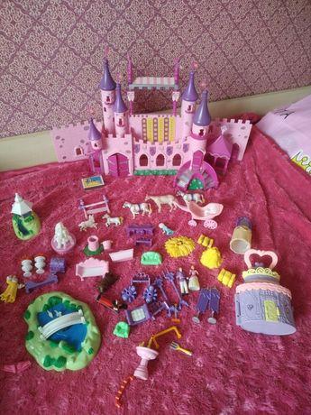 Замок, пазлы, больничка