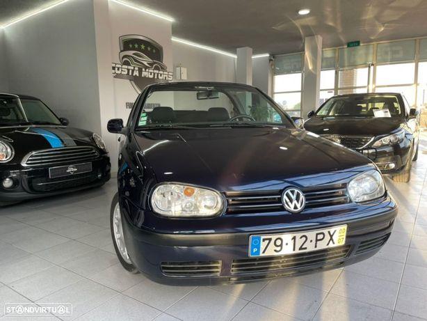 VW Golf 1.6 GPL. CABRIOLET