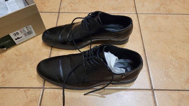 Buty eleganckie dla ucznia 39