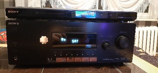 Zestaw kina domowego SONY SSF6000P| Amplituner STR DG-520 | DVD NS708H