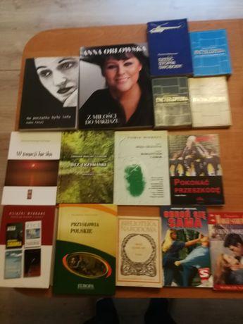 Książki różne, wiersze, opowiadania i inne