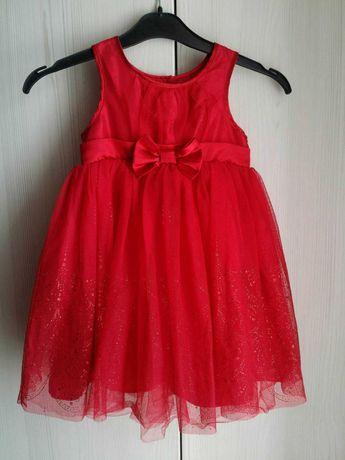 Сукня, плаття червоне, сукеночка святкова