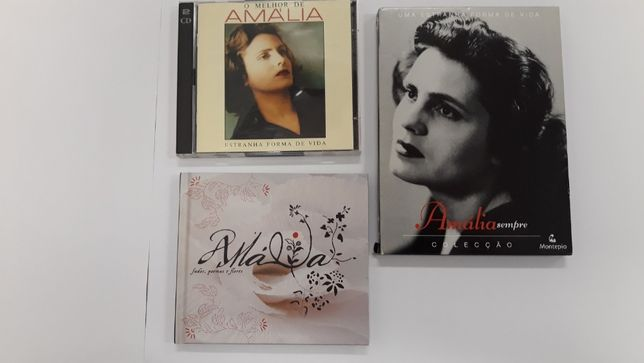 Pack Amália Rodrigues (DVD's e Cd's)