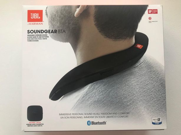 Акустическая система JBL SoundGear BTA Black