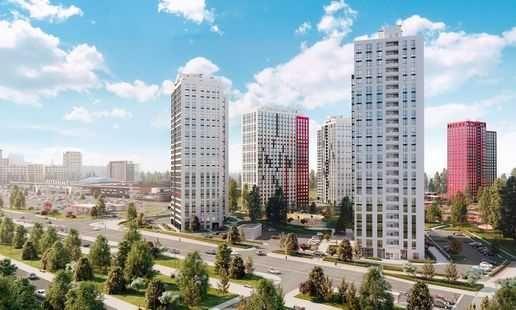 Продам двухкомнатную квартиру в ЖК Варшавский плюс, 61,98 кв.м.