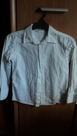 5 10 15 biała koszua 128 cm