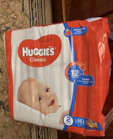 Huggies classic хаггіс 88 шт