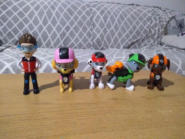 Nowe figurki psi patrol ruchome
