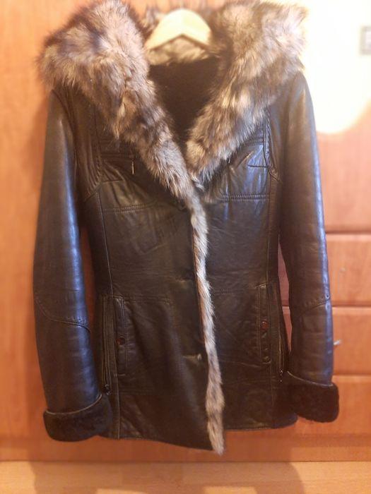 Шкіряна зимова куртка Батево - изображение 1