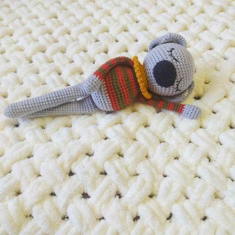 Брязкальце Коала. Іграшка для немовлят. Іграшка ручної роботи