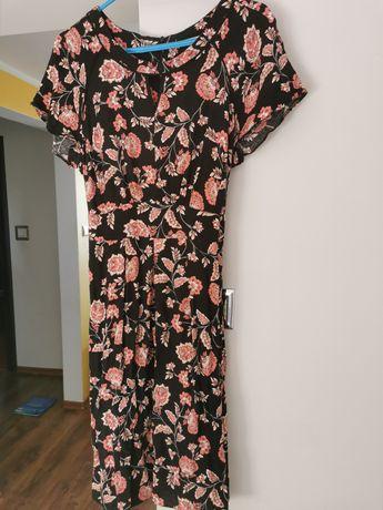 Sukienka George kwiaty 40