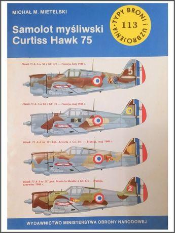 Samolot myśliwski Curtiss Hawk 75 - Michał M. Mietelski