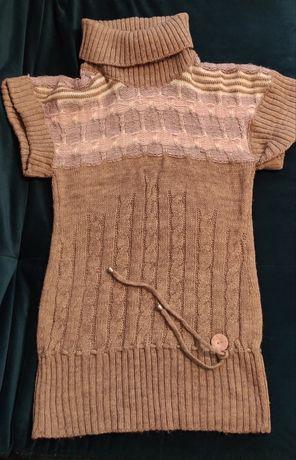 Женская вязанная туника