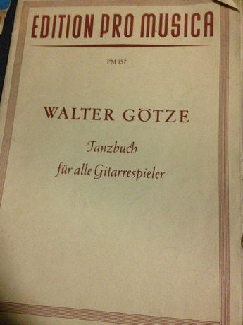 Walter Gotze Tanzbuch fur alle Gitarrespieler