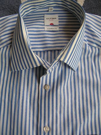 Elegancka bawełniana koszula wizytowa XL/XXL 100% cotton 44/45 j.nowa