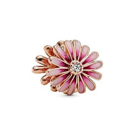 NOWOŚĆ wiosna lato Stokrotka rose charms do Pandora srebrne