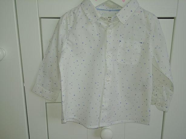 Koszula dla chlopca Zara r. 68cm