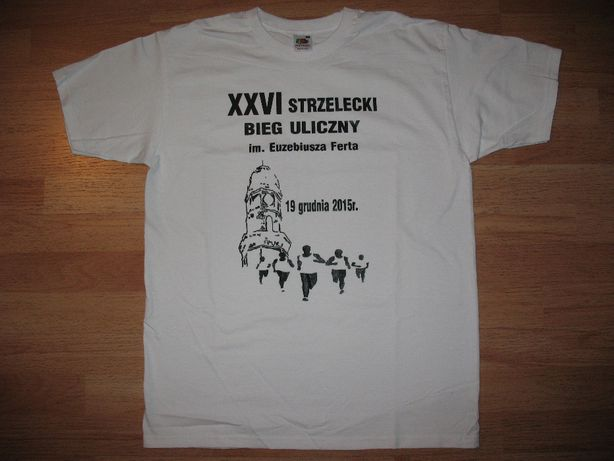 Koszulka FRUIT OF THE LOOM Super Premium Biała M