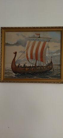 Картина гобелен на морі