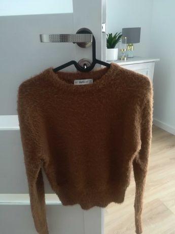 Sweter wlochaty Zara S 36 jak nowy