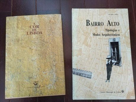 Livros A Cor de Lisboa e Bairro Alto
