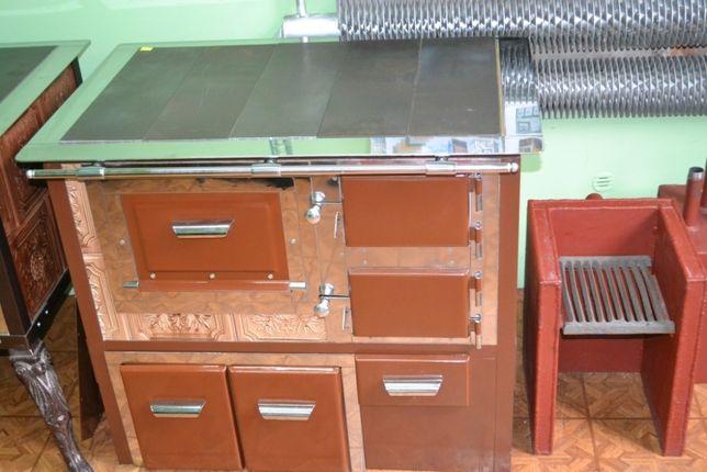 Piec kuchenny, kuchnia kaflowa z wymiennikiem c.o. TD 15 V