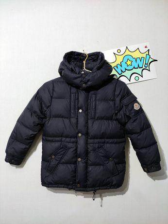 Пуховик детский Moncler куртка 8а 128см burberry dior lacoste nike tnf