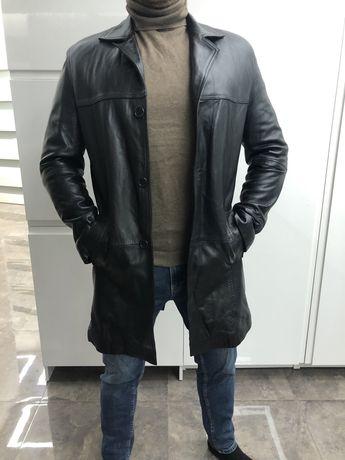 Кожаная курточка кожаный плащ кожаное пальто