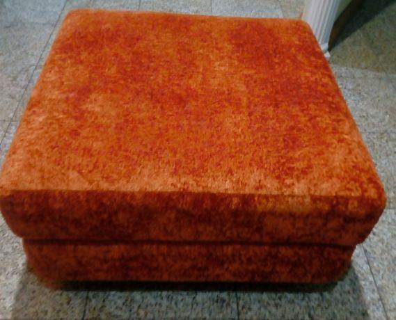 Sofa quadrado veludo, NOVO