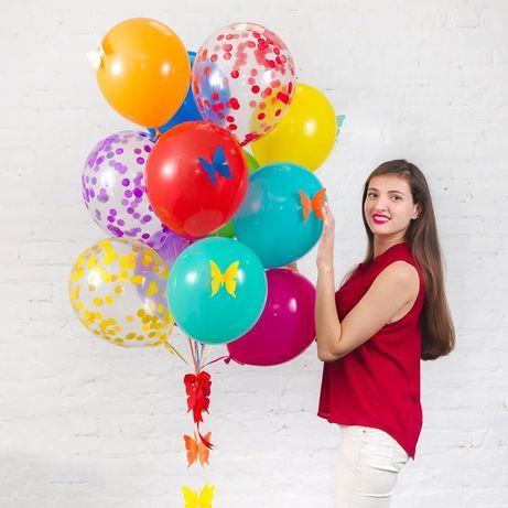 Воздушные шары с гелием доставка