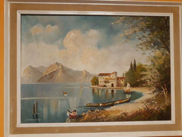 Obraz malowany recznie
