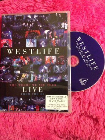 DVD• Westlife_The Where We Are Tour_Live O2