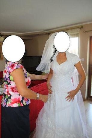 Suknia ślubna - biała rozm.36