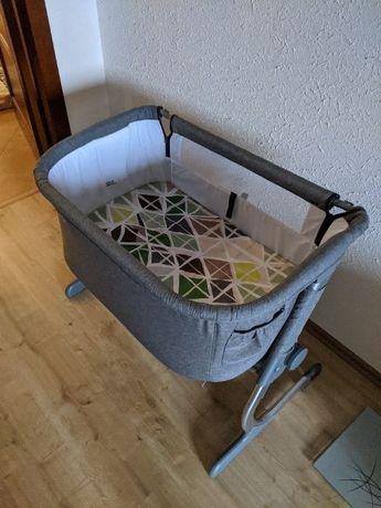 Детская кроватка-люлька Kinderkraft Uno Grey