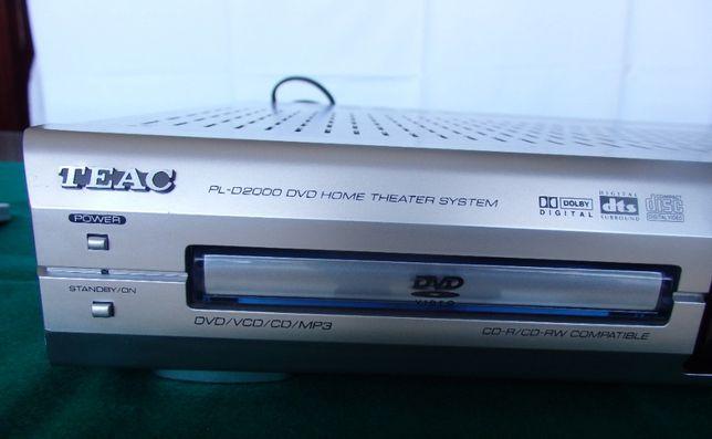 Reprodutor e Gravador de Vídeo TEAC com sistema de som