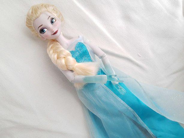 Lalka Elsa śpiewająca świeci duża 40cm Disney Store Kraina Lodu Elza