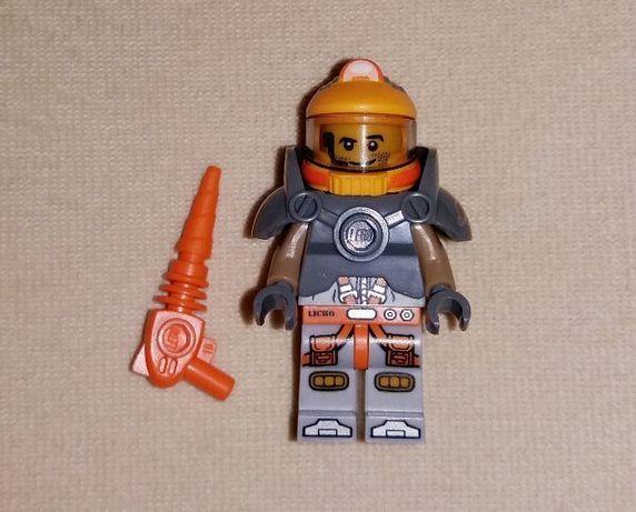 Минифигурка коллекционная Лего Lego космический шахтер 71007 2014 год