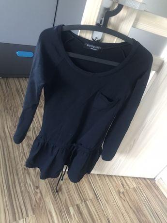 czarna sukienka shoppnig center xs