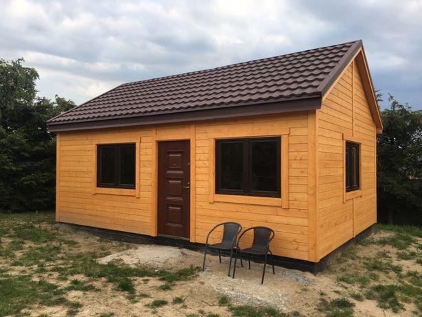 Drewniany Szkieletowy Dom Budynek Gospodarczy Garaż na zgłoszenie