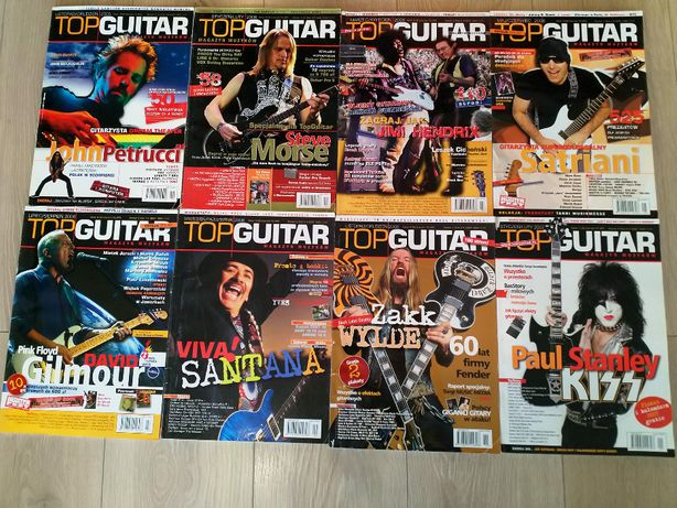 Magazyn Top Guitar - 8 numerów