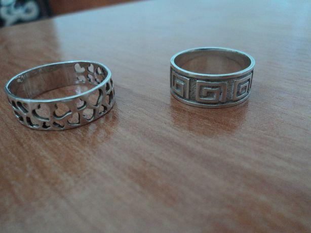 кольца для свадьбы серебро  925 пр