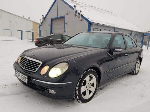 Mercedes E240 W211 2.6 177KM * Skóra * Sedan