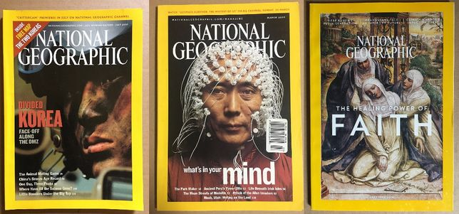 Revistas National Geographic (versão Inglesa)