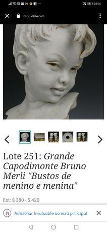 Busto cabeça de menino, de Bruno Merli
