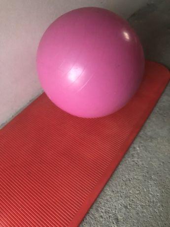 Tapete e bola de pilates  de marca profissional