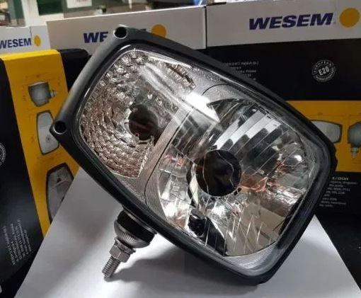 Reflektor lampa z kierunkowskazem manito caterpillar maniscopic nordic