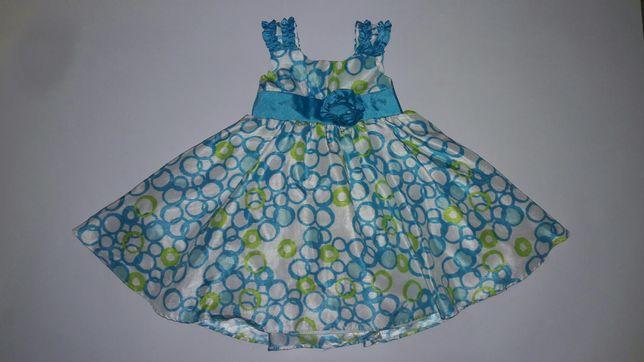 Нарядное пышное платье на 2 года