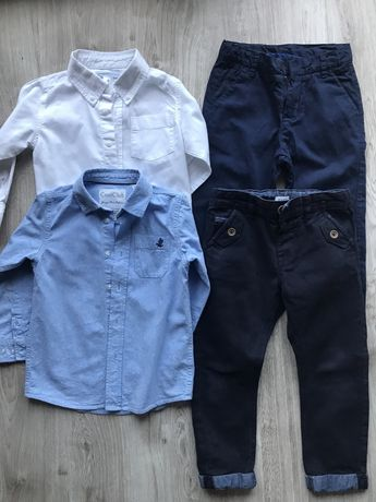 Zestaw spodnie i koszula 110