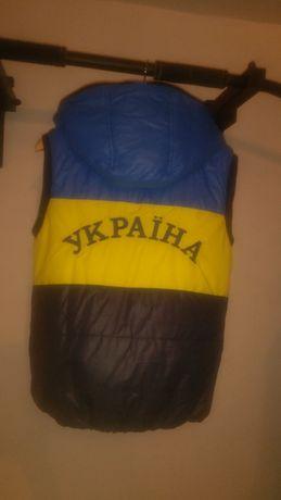 Куртка на овчині, без рукавів - Україна