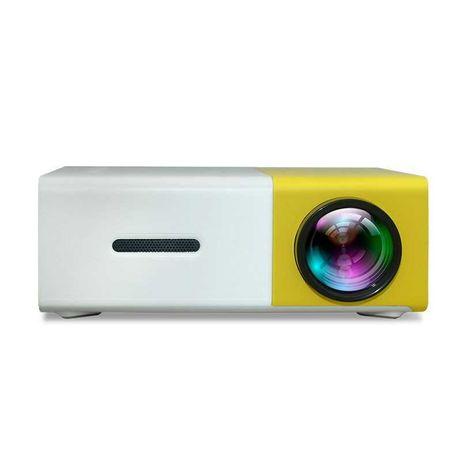 Projetor de LED com 50 lúmenes e resolução de 320 * 240 pixels